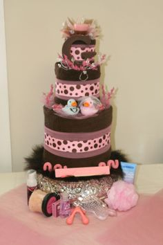 w/ modifications such as zebra stripes and/or leopard spots instead of dots, and pink added in