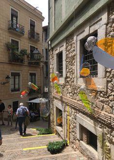 Polimer Tecnic colabora un año más en Girona Temps de Flors, con un proyecto original de Vitroflex de colores.