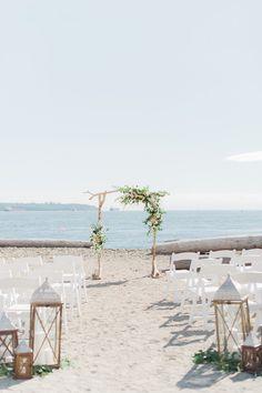 BEACH Wedding | Bespoke Decor + Sweetheart Events + Christine Williams Photography.