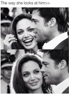 Brad Pitt & Angrlina Jolie are everything ❤️ More