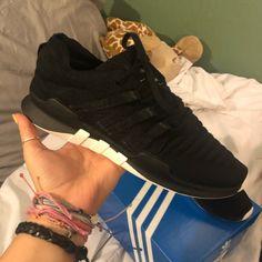 big sale cf394 68e89 adidas Shoes   Never Been Worn Adidas Eqt Adv   Color  Black   Size  8