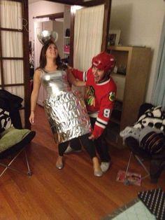 Blackhawks - Best Couple's Costume Ever!