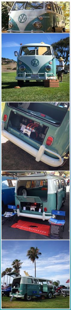 The Electric Bus of my Dreams ♠ #VWBus Volkswagen Bus ♠ pinned by http://www.wfpblogs.com ♠