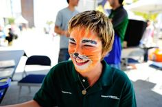Wild Face Painting With Arts & Events
