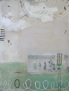 Knee Deep In Adoration Original Plaster Painting by dabbler, $195.00  Stephanie Lee