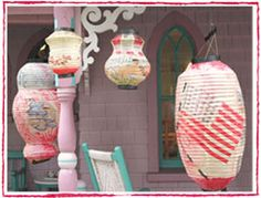 Martha's Vineyard August lanterns Seaside Cottages, Vintage Lanterns, Chinese Lanterns, High Hopes, Martha's Vineyard, Cozy Cottage, Flasks, Paper Lanterns, Nantucket
