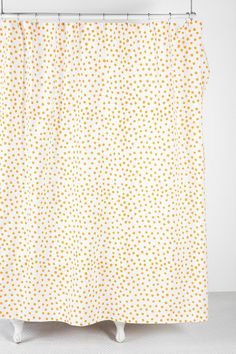 Urban Outfitters Plum & Bow Polka Dot Shower Curtain