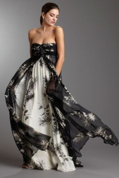 Gown for a summer night.