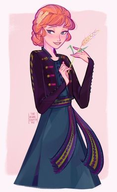"""Queen Anna Of Arendelle 🌾 Frozen Fan Art, Frozen Film, Frozen And Tangled, Disney Frozen, Anna Frozen, Olaf Frozen, Film Disney, Disney Nerd, Disney Fan Art"