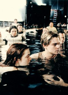 Leonardo DiCaprio - Titanic. Its disappointing they didn't actually film in the middle of the ocean :p