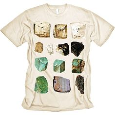 Mineral Specimens T Shirt Semi Precious Geology by nonfictiontees, $16.00