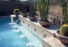 Swimming Pool Water Feature Designs Swimming Pool Builder Premier Pools And Spas Swimming Pool Pictures, Swimming Pool Water, Swimming Pools Backyard, Swimming Pool Designs, Garden Pool, Pool Landscaping, Pool Pool, Backyard Pool Designs, Backyard Patio