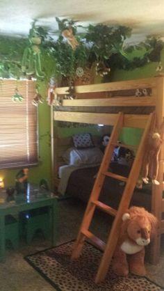 1000+ images about slaapkamer kids on Pinterest  Jungle room, Crates ...