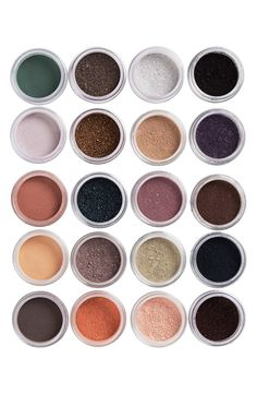 Dazzling eyeshadow colors!
