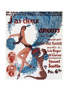 Josephine Baker affiches sur AllPosters.fr