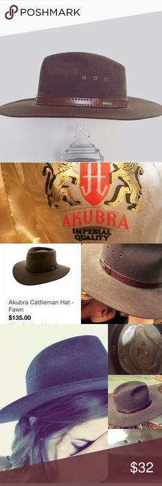 Akruba Australian Hat NWOT Never worn vintage AMAZING QUALITY made in Australia Akurba zero marks stains or anything NWOT Anthropologie Accessories Hats