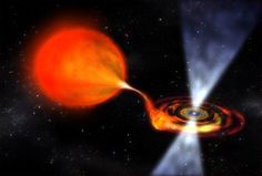 NASA's Fermi Space Telescope has spotted a pulsar a rare transitional phase as it devours the matter of its companion star.