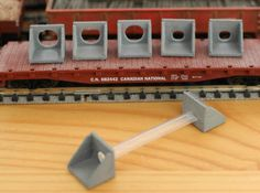 N Scale Culvert Headwall ø600mm + ø1000mm 10pc by Ngineer N Scale Trains, 3d Prints, Diy Projects, Industrial, Crafts, Design, Manualidades, Industrial Music
