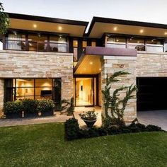 Ideas House Exterior Design Architecture Modern For 2019 Modern Home Interior Design, Modern House Design, Interior Designing, New House Designs, Rustic House Design, House Design Plans, Home Building Design, Building Exterior, House Building