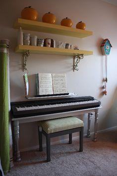 dirtsa studio - Blog - DIY Piano Table &Bench