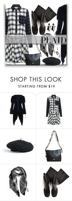 """""""Check It: Plaid"""" by ragnh-mjos ❤ liked on Polyvore featuring 10 Crosby Derek Lam, Venus and Rick Owens"""
