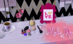 Mony Sims: Make Up #1 • Sims 4 Downloads