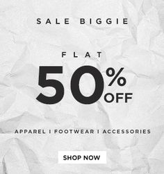Abof.com has brought to everyone a fantastic offer, where you get flat 50% off on various fashion products for both men and women. You get to pick from various fashion products like footwear, clothing and accessories and lot more. So without delaying any more, just hurry and avail this offer immediately. Store name:Abof.com Deal: Flat ...