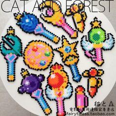 17 best ideas about sailor moon crafts on Diy Perler Beads, Perler Bead Art, Pearler Beads, Fuse Beads, Pearler Bead Patterns, Perler Patterns, Sailor Moon Crafts, 8bit Art, Iron Beads