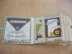 Creation with love: Mini Album for a Baby Boy - Bundle of Joy Echo Park (multi photos)