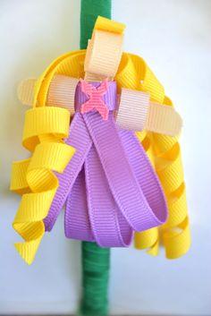 Grosgrain: Disney Inspired Ribbon Sculpture Patterns Day 1: Rapunzel