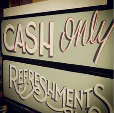 Cayetano Valenzuela - Syracuse New York - Black Rabbit Studio #handpaintedsign #handlettering #Typography