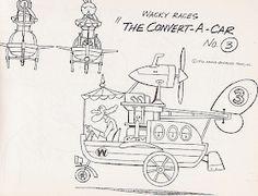 Cartoon Concept Design: The Wacky Races- Model Sheets Hanna Barbera, Racing, Animation, Blender 3d, Cartoon, Comics, Retro, Model, Concept