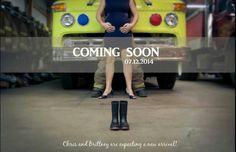 Our announcement! #firefighter #pregnancyannouncement