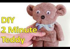 Sewing Teddy Bear Leer in dié video hoe om 'n oulike teddie binne enkele minute te maak. Teddy Bear Crafts, Diy Teddy Bear, Teddy Bear Baby Shower, Cute Teddy Bears, Bear Toy, Diy Dolls From Socks, Diy Plush Toys, Bear Valentines, Diy Baby Gifts