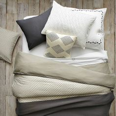 Swiss Dot Duvet Cover + Shams | west elm