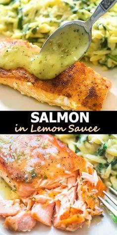 Salmon Recipes, Fish Recipes, Seafood Recipes, Indian Food Recipes, Cheesy Recipes, Seafood Appetizers, Recipes Dinner, Easy Healthy Recipes, Vegetarian Recipes