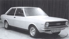 OG | 1972 Audi 80 / B1 - EA 838 | Full-size design proposal no.838/3 dated March 1970