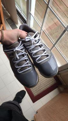 cb17392f561 Air Jordan Mens Retro XI 11 Low COOL GREY White 528895-003 Jordans Size 11   fashion  clothing  shoes  accessories  mensshoes  athleticshoes (ebay link)