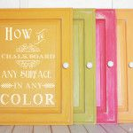 chalkboard any surface in any color #chalkboard #paint