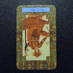 Reversed King of Wands | Daily Dragon Tarot
