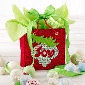 printable gift bag banner  #countrywoman #merrychristmas