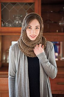 47a48bcf1bea7 Ravelry  Seed Stitch Cowl and Hood pattern by Jessica Zoz Knit Cowl