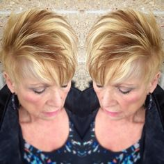 Chunky blonde on blonde with a low light. Color done by Lindz at Carmine&Co Hair Salon