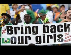 Bring back our girls PAZ PARA NIGÉRIA