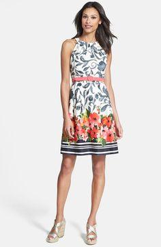 beautiful dress, looks like watercolor