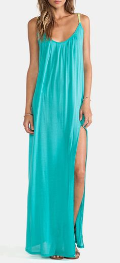 Blue Life Festival Maxi Dress in Mint..lordy do i love this color, looks like it would flatter any skin tone