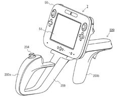 Nintendo Wii U patent