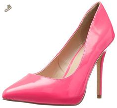 Pleaser Women's Amu20/Nfs Platform Pump, Neon Fuchsia Patent, 11 M US - Pleaser pumps for women (*Amazon Partner-Link)