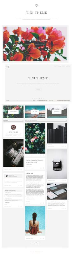 Tini is an elegant easy to use responsive tumblr theme. Designed to focus user's attention on your content. Made for people who loves clean design. Great solution for photographers, designers and bloggers.Demo: https://theme-tini.tumblr.com/Buy: https:/…