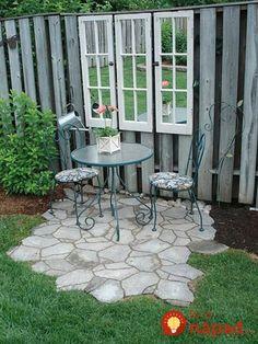 Nepotrebujete drahý záhradný nábytok: Čarovné inšpirácie, ako vytvoriť v záhrade či na terase prenádherné sedenie!